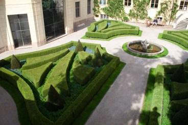 El jardín barroco de Vrtba, Praga, República Checa