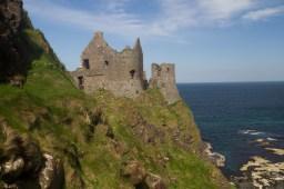 Ruinas de Dunluce Castle, Irlanda del Norte