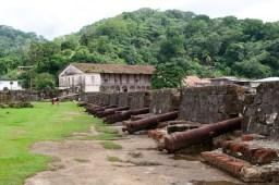 Fuerte de San Jerónimo y edificio de la aduana, Portobelo, Panamá