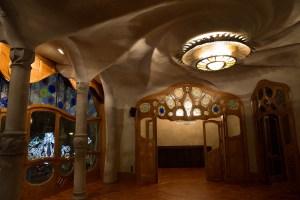 Salón principal de la planta noble de la Casa Batlló, Barcelona, España