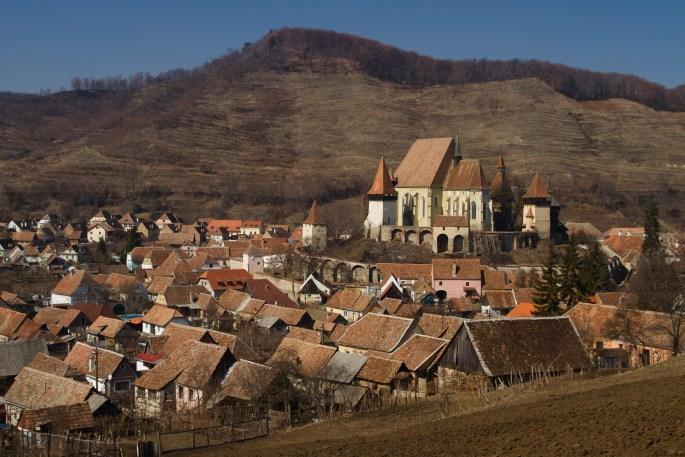 La iglesia fortificada de Biertan, Patrimonio de la Humanidad, Rumanía
