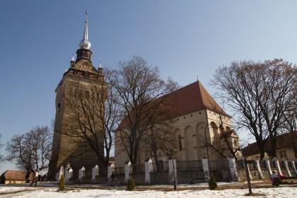 Iglesia fortificada de Saschiz, Rumanía