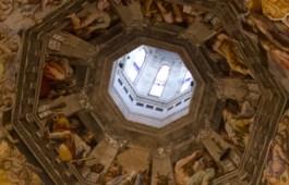 Fresco de la cúpula del Duomo de Florencia, Italia