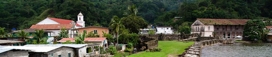 Parte colonial de Portobelo, Panamá