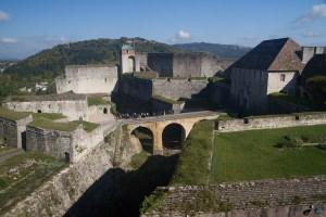 Interior de la ciudadela de Besanzón, Francia