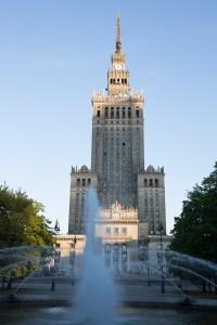 Palacio de la Cultura y la Ciencia, Varsovia, Polonia