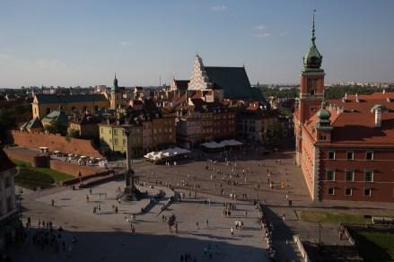 Plaza del Palacio Real, Varsovia, Polonia