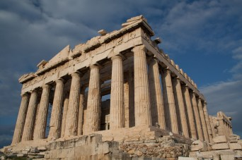 Partenón, Acropólis de Atenas, Grecia