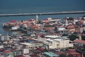 Panorámica del Casco Antiguo de la Ciudad de Panamá, Panamá