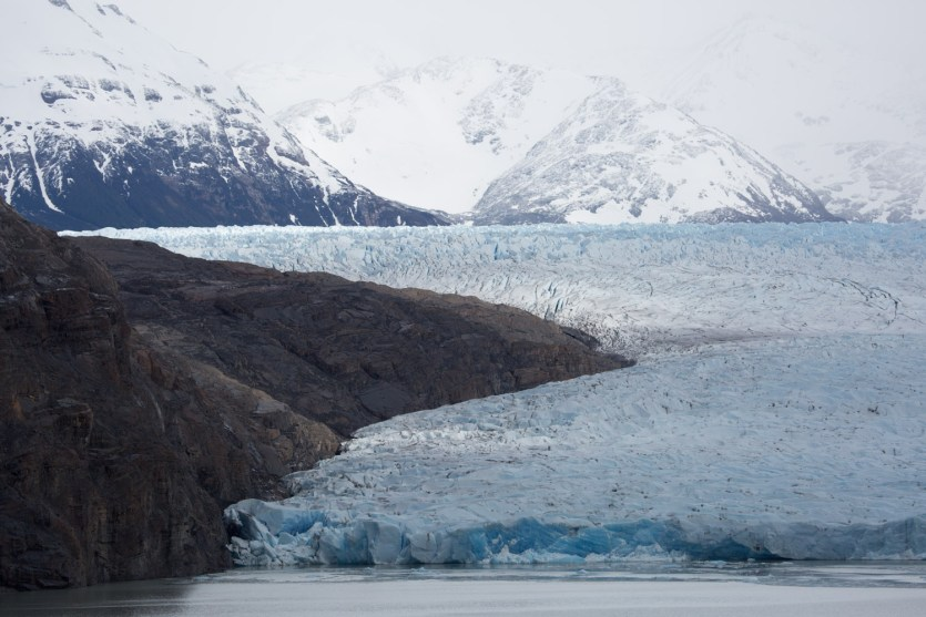El glaciar Grey, parque nacional Torres del Paine, Chile