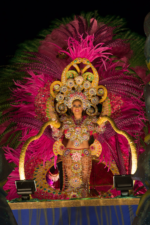 La reina de Calle Arriba de Las Tablas en el 2015