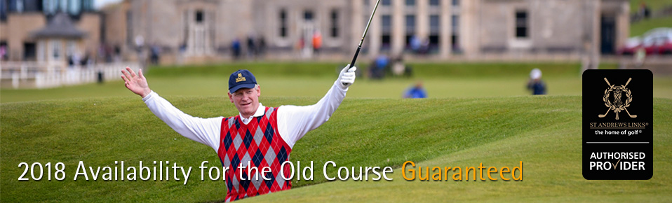 PerryGolf Old Course St Andrews Guaranteed Tee Times - Authorised Provider - PerryGolf.com