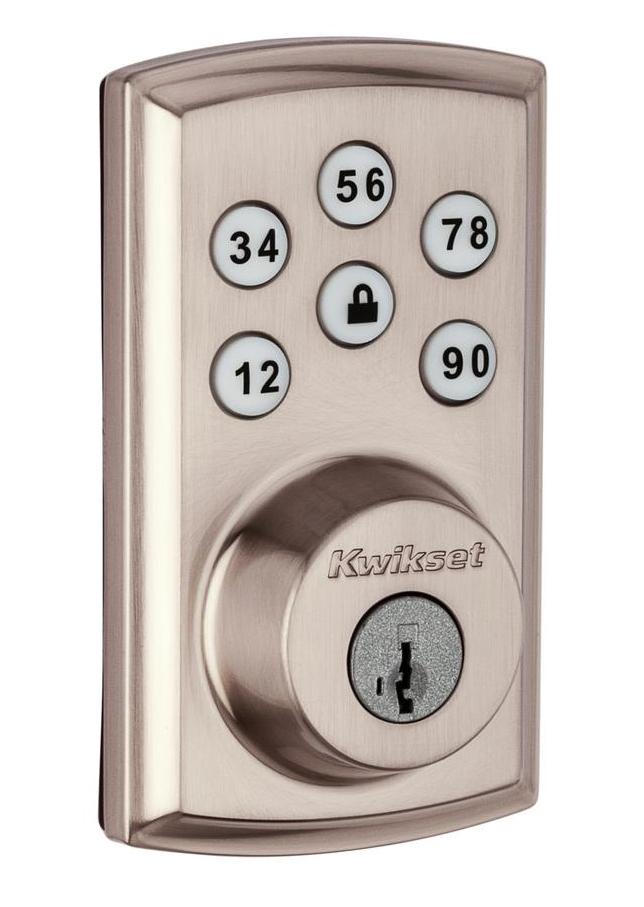 Z Wave Front Door Lock
