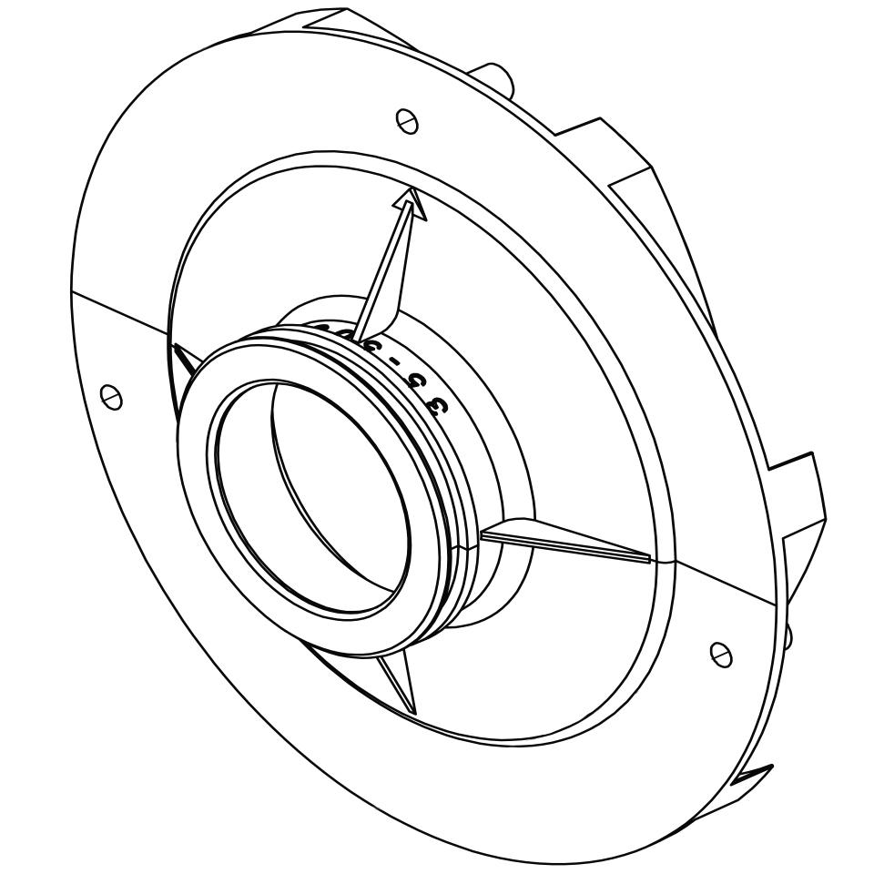 Pentair challenger 2 3 hp diffuser 355545 perry s pool pump dual sd pentair whisperflo pump wiring diagram