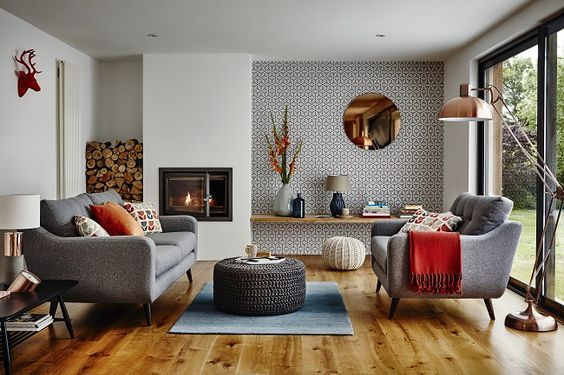 contoh lantai kayu di rumah