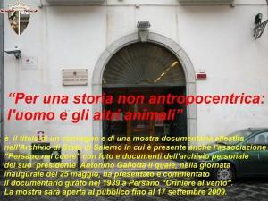 25 maggio 2009 – Mostra fotografica Archivio di stato di Salerno