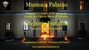 Concerto Gregorio Fracchia