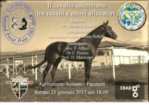 Convegno-dibattito sul cavallo salernitano il prossimo 21 gennaio