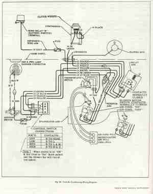 ACheater fan wiring diagram for 66 C10  Chevy Message Forum  Restoration and Repair Help