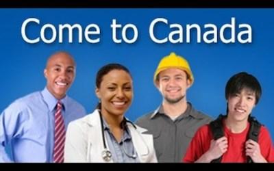بالاترین میزان مهاجرت به کانادا