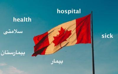نیاز به مترجم در بخش مراقبتهای بهداشتی