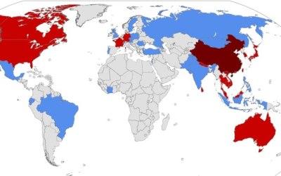 هشدار مسافرتی به چین