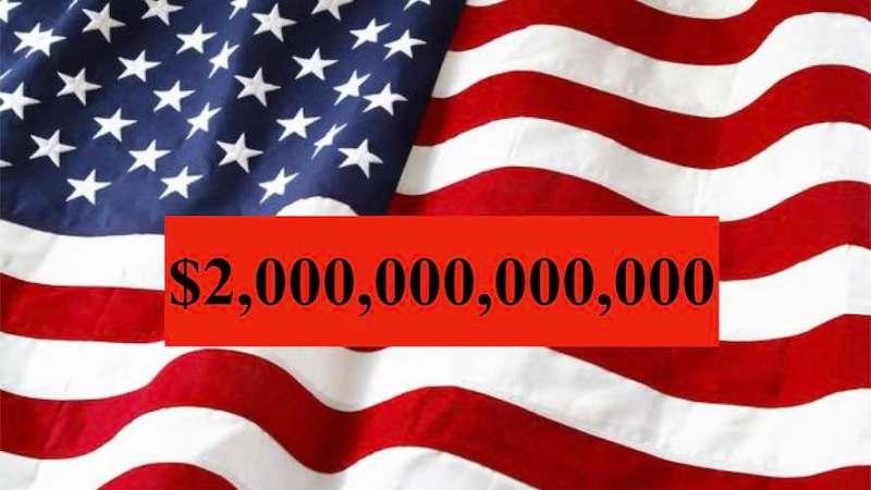 کمک ۲ هزار میلیارد دلاری