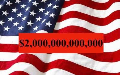کمک ۲۰۰۰ میلیارد دلاری آمریکا به مردم