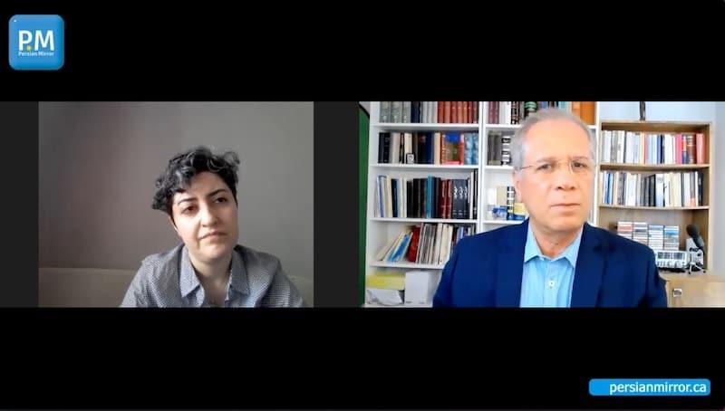 گفتگو با مهرنوش احمدی