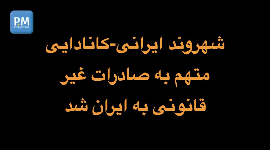 رضا سرهنگ پور متهم به صادرات غیر قانونی به ایران شد
