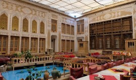 malek-al-tojar-hotel-yazd-yard-1