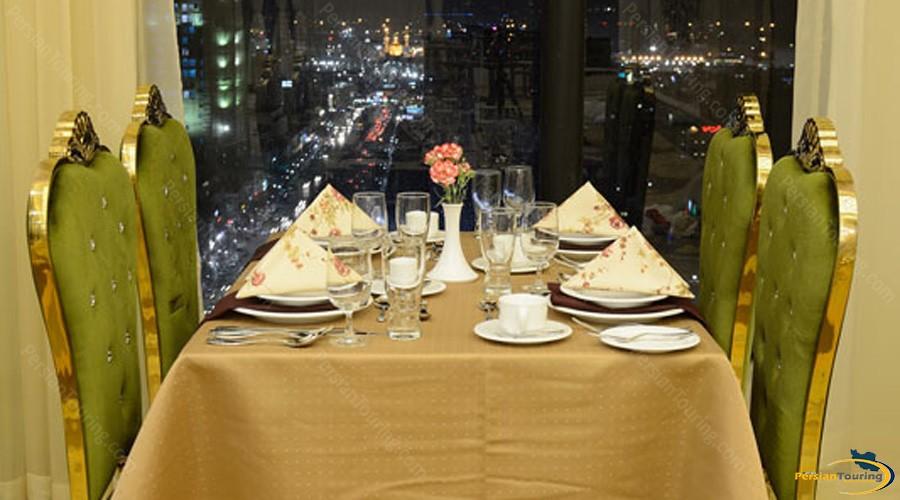 almas-2-hotel-mashhad-firoozeh-restaurant