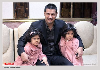 عکس خانواده ی علی دایی