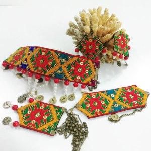 Needle work jewelry 5 pieces