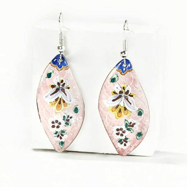 earrings enamel