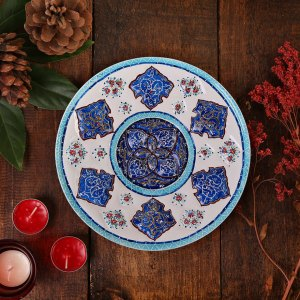 grade a hand-painted plate