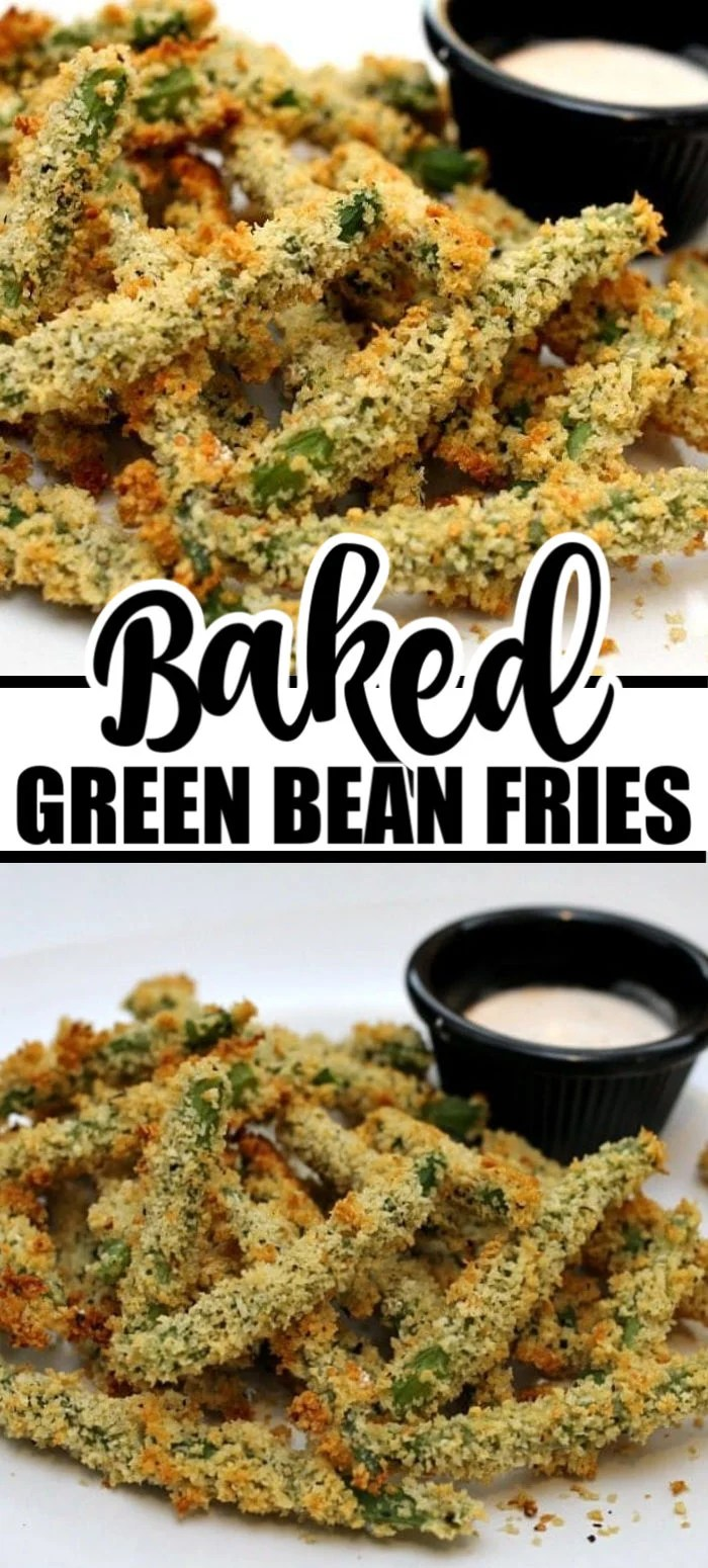 Baked Green Bean Fries via @pplates