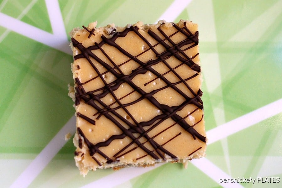 Reese's Peanut Butter Cup Cheesecake Bars | Persnickety Plates