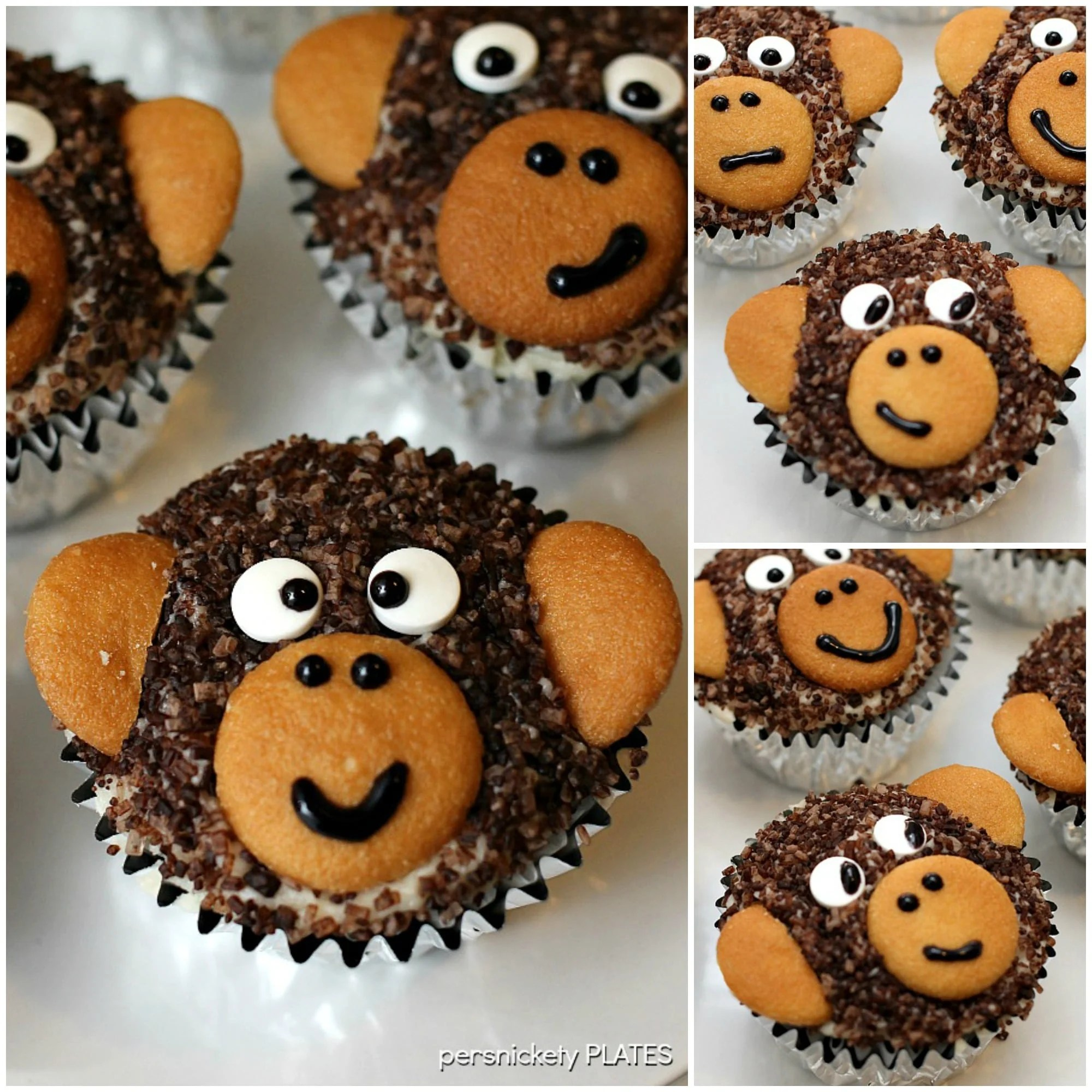 Monkey Cupcakes » Persnickety Plates