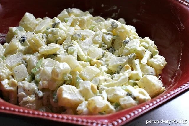 My Favorite Potato Salad   Persnickety Plates
