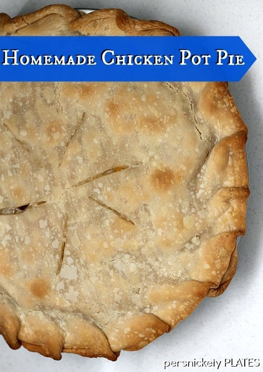 Semi-homemade Chicken Pot Pie