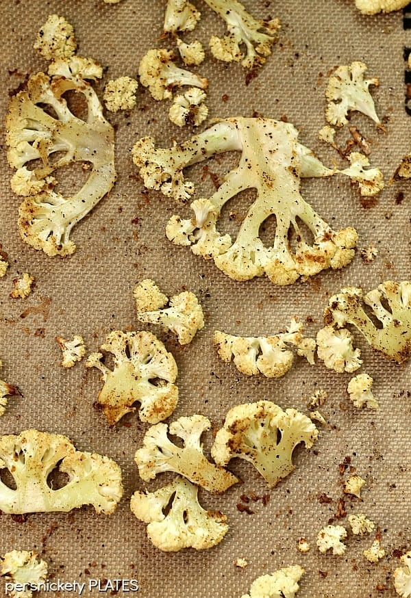 Oven Roasted Cauliflower   Persnickety Plates