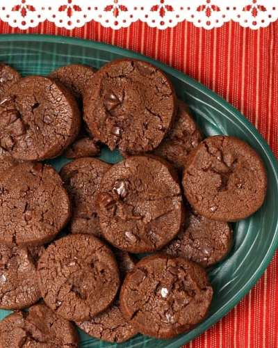 French Sables Korova {Double Chocolate Cookies}   Persnickety Plates
