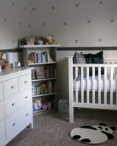 Baby Girl Room Reveal   Persnickety Plates