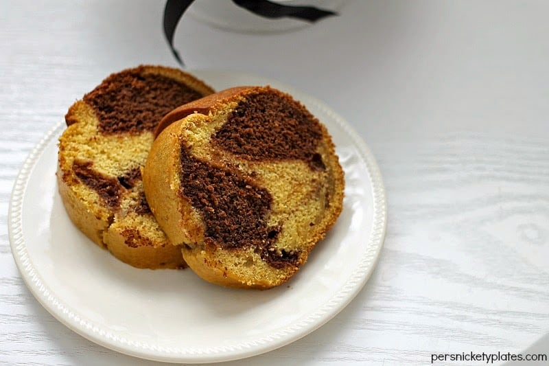 Pumpkin Chocolate Marble Bundt Cake   Persnickety Plates