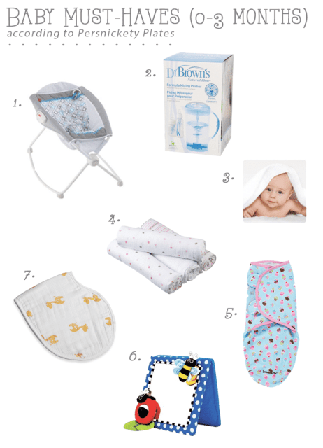 Baby Must-Haves for 0-3 Months | Persnickety Plates