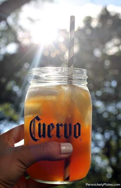 Jose Cuervo Teagarita - Summertime in a bottle | Persnickety Plates #CuervoTeagarita