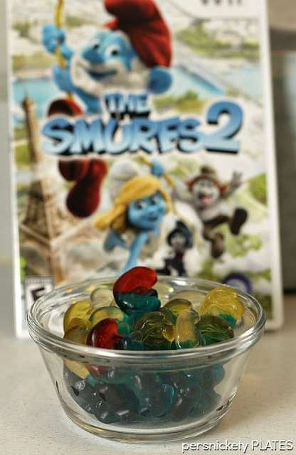 Smurfs 2 Wii Game Review {Persnickety Plates}