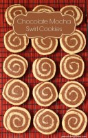 Chocolate Mocha Swirl Cookies | Persnickety Plates