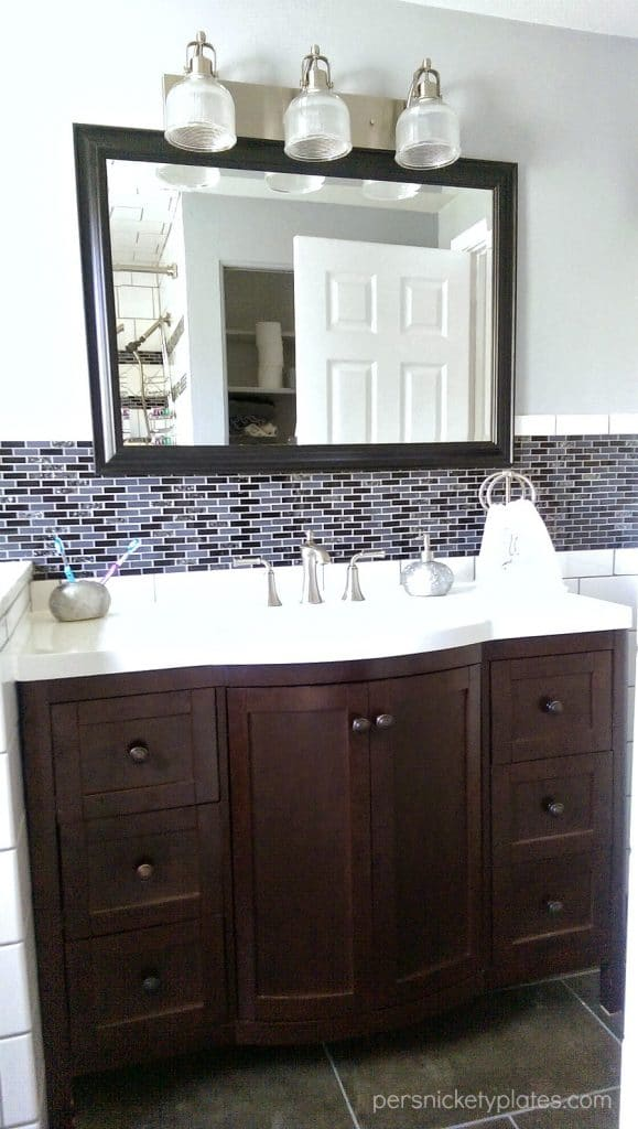 Bathroom Vanity - Madeline from Home Depot | Persnickety Plates